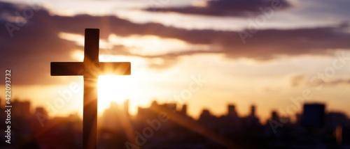 Photographie The Cross Is The Faith Of God.