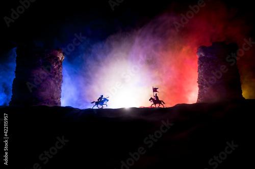 Cuadros en Lienzo Medieval battle scene