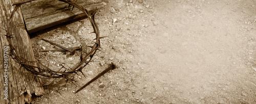 Fotografia Crucifixion Of Jesus Christ