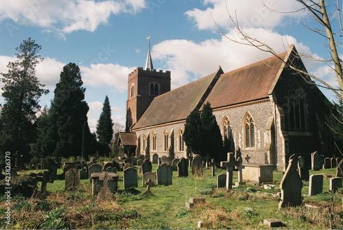 Fotografie, Obraz St Mary the Virgin Church, Stansted Mountfitchet, Essex.