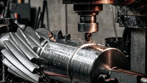 Canvastavla Industry lathe machine milling cutter gear precision work