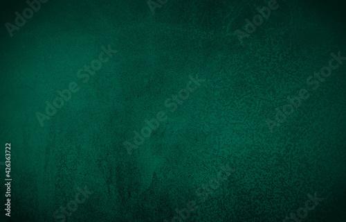 Valokuva Chalkboard or blackboard green texture