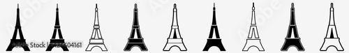 Fotografia Eiffel Tower | Tower | Emblem | Logo | Variations