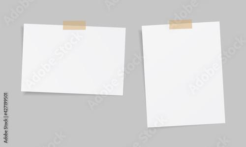Fotografia blank sticky note