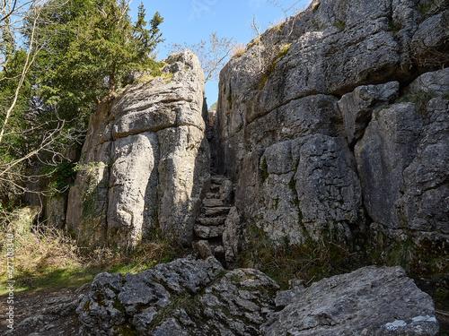 Billede på lærred Beetham Fairy Steps