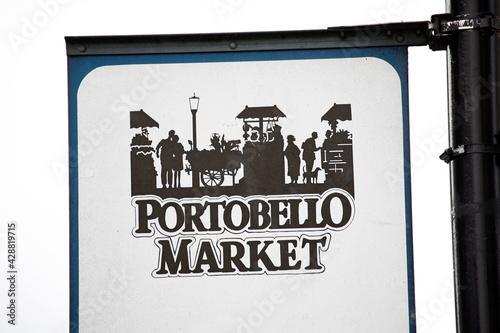 London Street Sign, Portobello Road Market #428819715