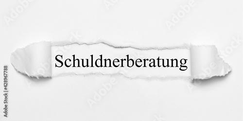 Fotografie, Obraz Schuldnerberatung