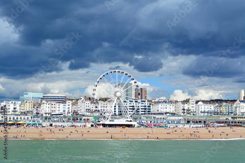 Photo Beautiful shot of Brighton UK