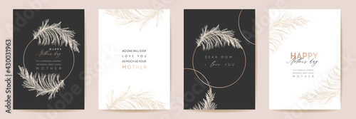 Fotografia, Obraz Mothers day luxury floral greeting set