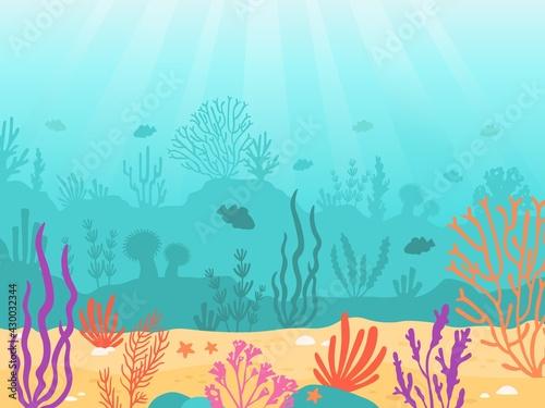 Photo Underwater background