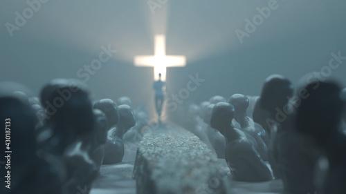 Fotografia way to god through the sea of sins