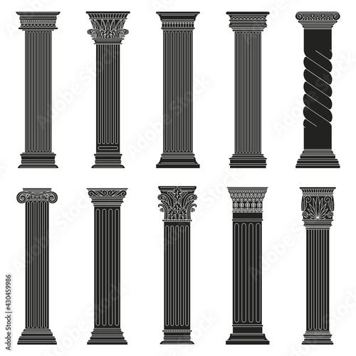 Wallpaper Mural Greek ancient columns