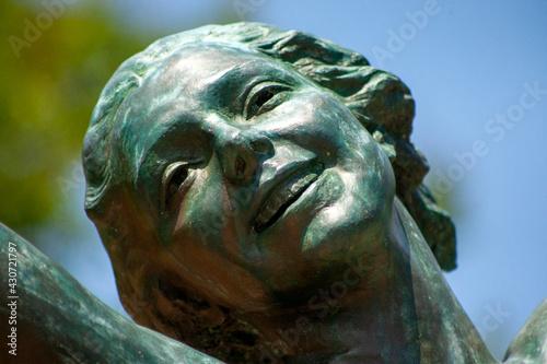 Canvastavla statue of a person