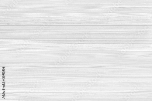 Fototapeta White Wooden wall texture abstract for background