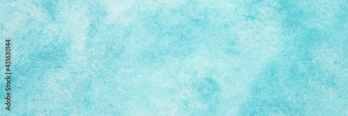 Blue watercolor background, Sky in watercolour painting soft textured on wet white paper background, Abstract blue watercolor illustration banner, wallpaper