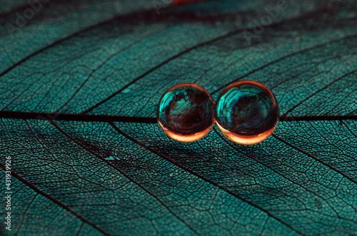 Drops 3D abstract