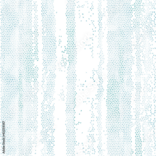 Mosaic watercolor texture on the marine theme. Seamless vector pattern. Vertical stripes. Perfect for design templates, wallpaper, wrapping, fabric and textile.