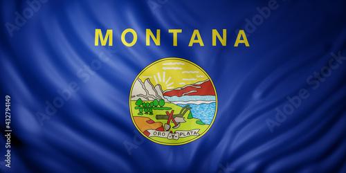 Wallpaper Mural Montana State flag
