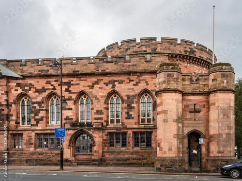 Canvas Print Carlisle Citadel, UK
