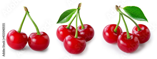 Fotografia Cherry isolated