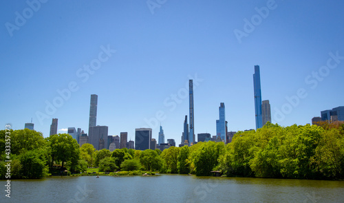 Leinwand Poster view of Central Park in New York City