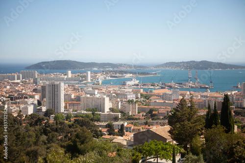 Fototapeta La Rade de Toulon , France