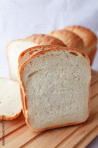 Fotografering Japanese milk bread asian food