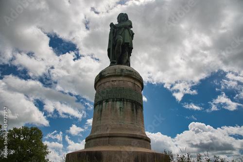 Denkmal Vercingetorix in Alésia im Burgund Fototapeta