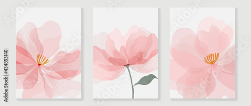 Foto Abstract flower vector arts background