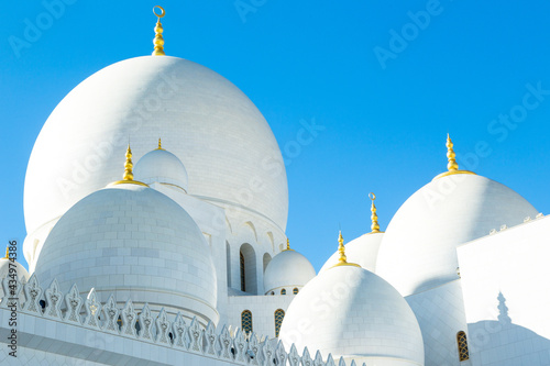 Foto dome of the mosque