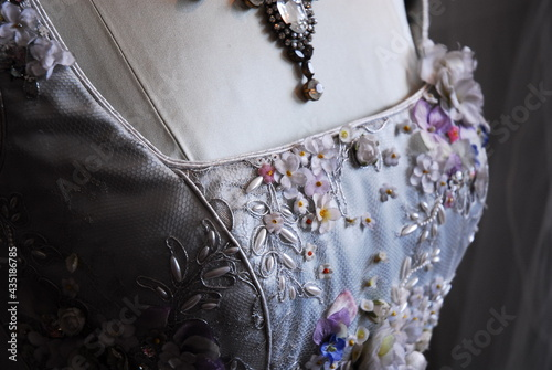 Cuadros en Lienzo Vintage Wedding Dress Bodice