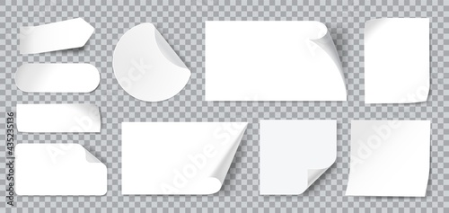 Fotomural White stickers