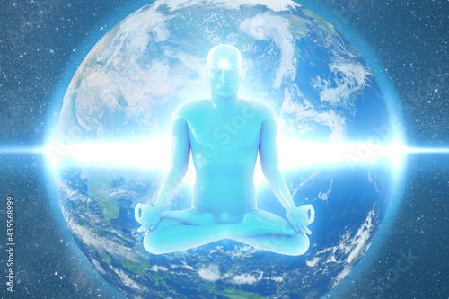 Fotografía Yoga_006 Meditation Zen Chakra kundalini Earth Background