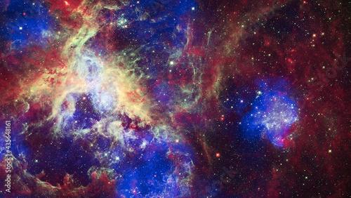 Obraz na plátne image of nebula and stars,infinite space background