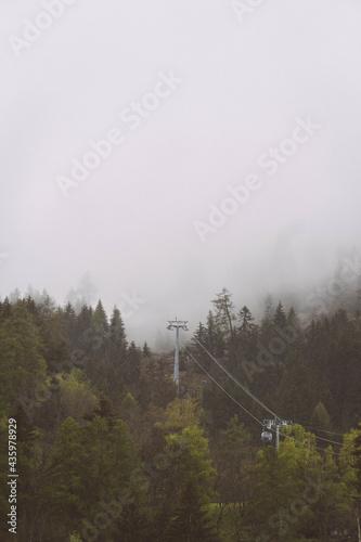 Fotografia 21.5.2021 Nebel Schweiz Brig