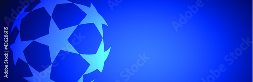 star background vector template modern Fotobehang