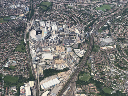 Wembley from the air фототапет