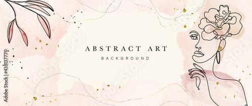 Abstrakcyjna sztuka botaniczna