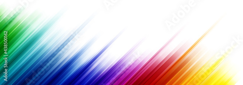Obraz na plátně Colorful abstract background with stripes in the different gradient of the color