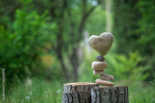 Murais de parede Heart balance