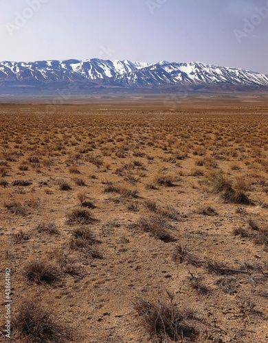 africa, morocco, high atlas, grass steppe, north africa, mountains, steppe, arid Poster Mural XXL