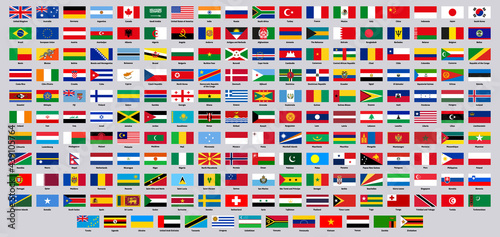 Obraz na plátne National flags