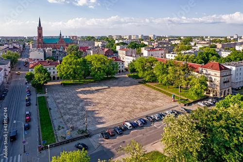 Fotografia, Obraz Stary Rynek w Łodzi.