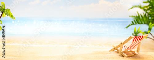 Obraz na plátne Summer relax concept