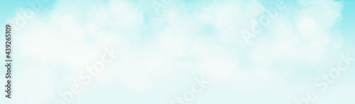 abstract blue background with space