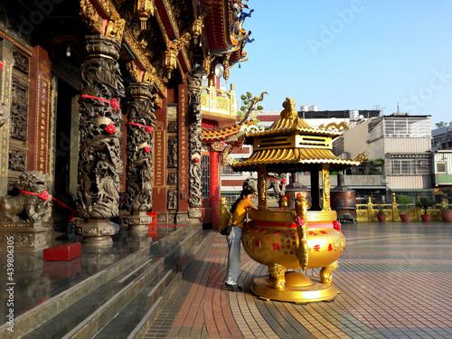 Temples in Taiwan Fototapeta