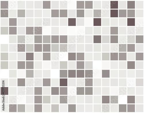 Obraz na plátně Background illustration of a light blue geometric pattern with different shades randomly arranged