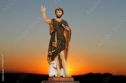 Photo Saint John the Baptist catholic image