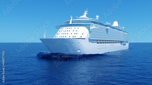 Valokuva cruise ship in the sea