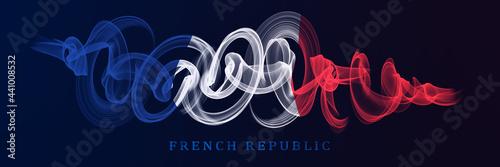 Fototapeta French National Holiday